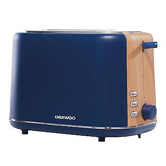 Daewoo Navy Blau Stockholm 2 Scheibe Toaster