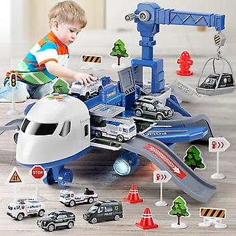Kids Toy Airliner Music Story Simulation Traccia Inertia Children's Toy Aircraft Large Size Passenger Plane Aircraft Toy Car