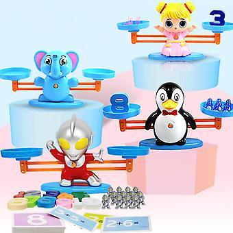 Digitale Mathematik Skala neue Montessori Mathe Spielzeug Balance Spielzeug pädagogische Balance Skala Zahl Brettspiel Kinder lernen Spielzeug