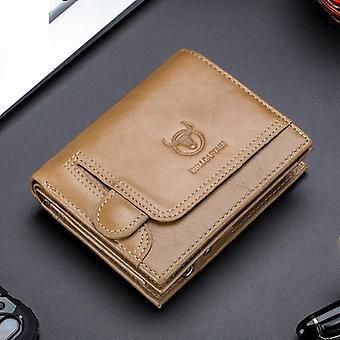 Pánske Peňaženka, Pravá kožená kabelka