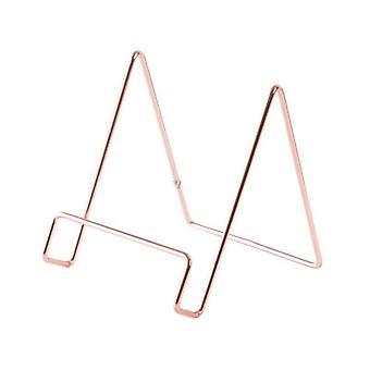 Rack de armazenamento geométrico criativo simples porta-suporte de organizador de ferro forjado