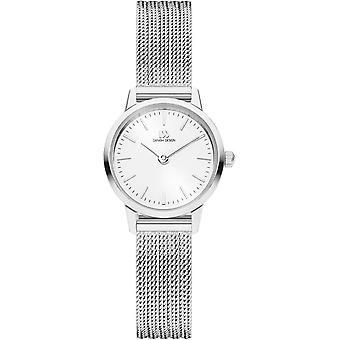 Dänisches Design Akilia Mini Uhr - Silber