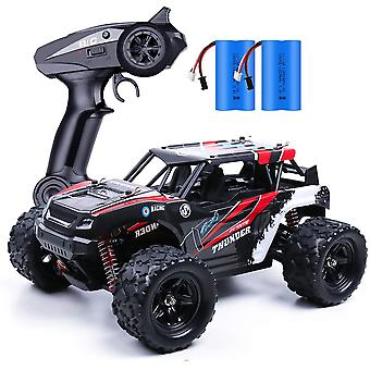 ❤✅【Off road RC Truck】- Equipped with 380 motor which can provide powerful torque and traction, this 1:18 scale off road rc truck run super fast, high speed up to 25MPH(36KM/H),will definitely bring you an amazing driving experience. ❤✅【Excellent Off-Road