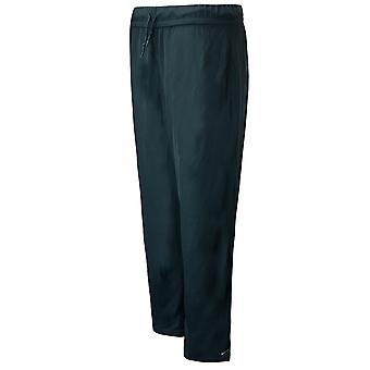 Nike Womens Ribbed Pants Lounge Casual Flared Trousers Green 222497 350