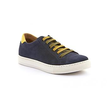 FRODDO Laced Leather Shoe Navy Blue