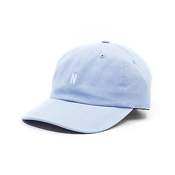 Norse Projects Twill Sports Cap - Cloud Blue