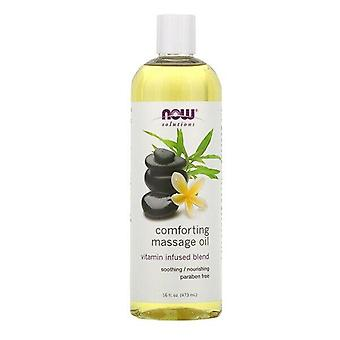 Now Foods, Solutions, Comforting Massage Oil, 16 fl oz (473 ml)