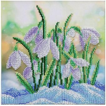 VDV Bead Embroidery Kit - Snowdrops