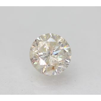 Sertifioitu 0,73 karat I väri pyöreä loistava parannettu luonnon timantti 5,52mm