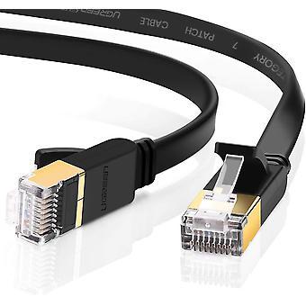 Cable Ethernet Ugreen, cat 7 gigabit lan network rj45 diseño plano de cable de parche de alta velocidad 10gbps para 6 wof02089