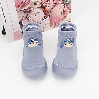 طفل طفل النمط الصيني غير زلة المضادة قبالة القدم الكلمة محبوك سوك