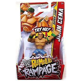John cena wwe rumblers rampage action mini figure