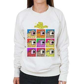 The Magic Roundabout Dougal Pop Art Women's Sweatshirt