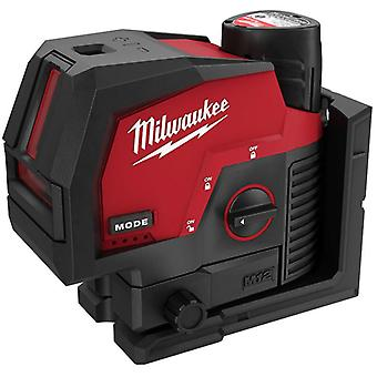 Milwaukee M12 CLLP-301C M12 Green Cross Line Laser With Plumb Points