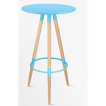 Nordic Bar Tea Shop Petite table basse ronde haute