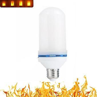 Lampadina a fiamma led, led flame effect fire lampadina sfarfallio emulazione decoro