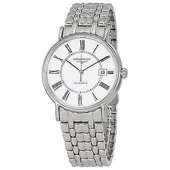 Longines Presence Automatic White Dial Men's Watch L49214116