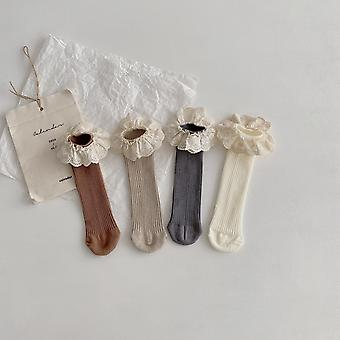 Kids Knee Length Soft Cotton Baby Socks