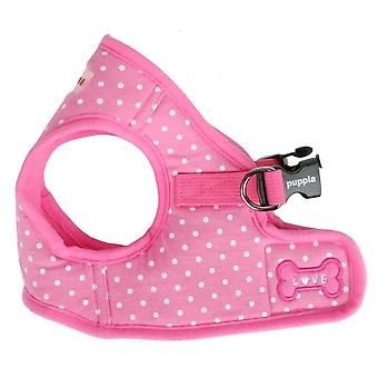Puppia Dotty B Harness Pink (Dogs , Collars, Leads and Harnesses , Harnesses)