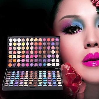 Professionele 252 kleuren oogschaduw en glinsterende naakt palet set
