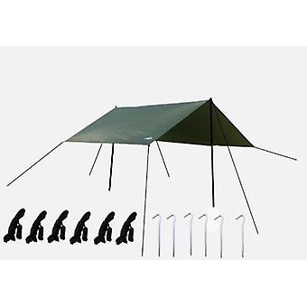 Outdoor Big Canopy Tent Shading Beach Ground Cloth Mat Moisture-proof Mat