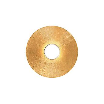 Lifestyle Metal Surface Mounted Ceiling Light - Sun Gold Finish, 1x GX53
