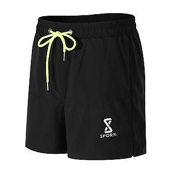 SPORX Men's Running Shorts - Black