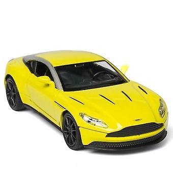 1:32 ASTON MARTIN DB11 Diecasts Modello giocattolo (giallo)
