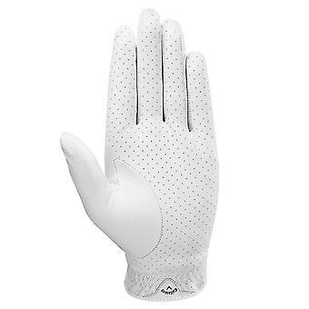 Callaway Golf Mens Dawn Patrol MLH Premium Leather Perforated Golf Gloves