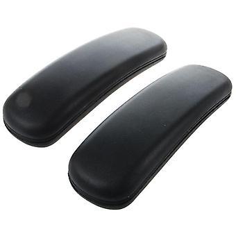 """Toimistotuolin osat Käsivarren käsinojan vaihto 9,75"""" X 3"""" (musta)"""