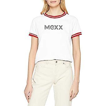 Mexx, Women's T-Shirt, White (Bright White 110601), X-Small