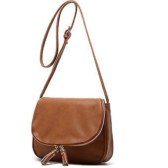 Pu Casual Flap Pocket Slang Bag