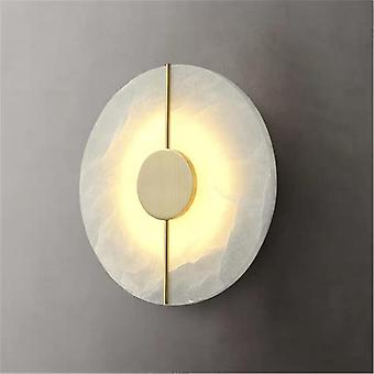 Copper Marble Wall Lamp Designer Post Modern Minimalist Chinese Style Living Room Corridor Road