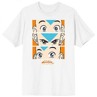 Avatar: The Last Airbender Aang Expressions Grid T-Shirt