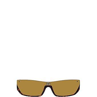 Balenciaga BB0080S havana unisex sunglasses