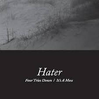 Hater – Fyra försök ner/Det är en röra vinyl