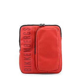Bikkembergs - Bags - Shoulder bags - E91PME560022060-Red - Men - Red