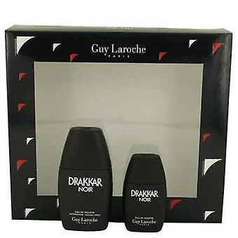 Drakkar Noir Av Guy Laroche Gift Set -- 1 Oz Eau De Toilette Spray + .5 Oz Mini Edt (män)