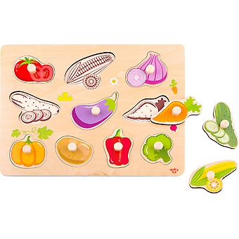 Wooden Vegetable Puzzle
