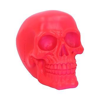 Ornamento rosa teschio psichedelico