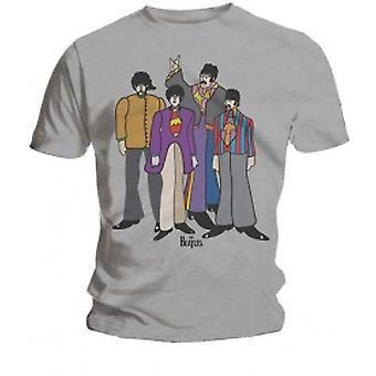 The Beatles Submarine Mens Grijs T Shirt: Medium