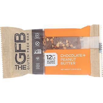 A Gfb Bar Gf Choc mogyoróvaj, esetében 12 X 2,05 Oz