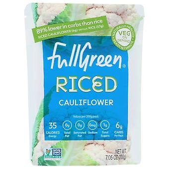 Fullgreen Riced Cauliflower, Case of 6 X 7.05 Oz
