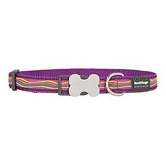 Red Dingo Nylon Dreamstream Nylon Necklace Purple