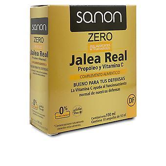 Sanon Sanon Jalea Real Propóleo Y Vitamina C Zero 10 Ampollas De 1 Unisex