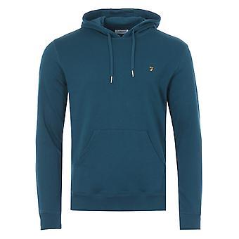 Farah Zain Organic Cotton Hooded Sweatshirt - Atlantic Blue
