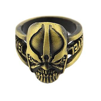 Thanos Anime Ring Marvel Collection Alloy Finger Ring For Children Golden