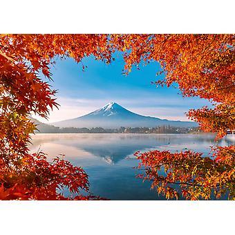 Schmidt Fuji in Autumn Jigsaw Puzzle (1000 Pieces)