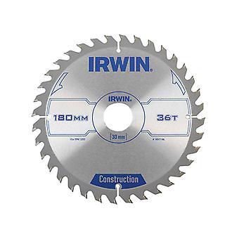 IRWIN Cirkelzaagblad 180 x 30mm x 36T ATB IRW1897196
