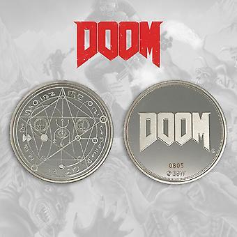 Fanattik - Doom Limited Edition Collectors Coin (Silver)